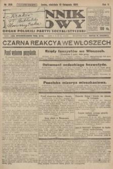 Dziennik Ludowy : organ Polskiej Partyi Socyalistycznej. 1922, nr259