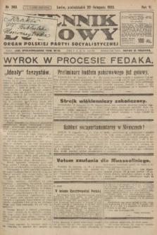 Dziennik Ludowy : organ Polskiej Partyi Socyalistycznej. 1922, nr260