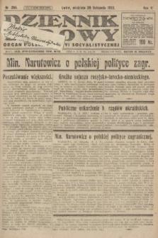 Dziennik Ludowy : organ Polskiej Partyi Socyalistycznej. 1922, nr265