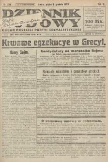 Dziennik Ludowy : organ Polskiej Partyi Socyalistycznej. 1922, nr269