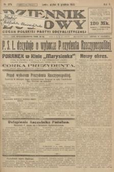 Dziennik Ludowy : organ Polskiej Partyi Socyalistycznej. 1922, nr275