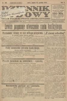 Dziennik Ludowy : organ Polskiej Partyi Socyalistycznej. 1922, nr281