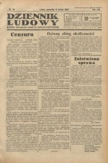 Dziennik Ludowy : organ Polskiej Partji Socjalistycznej. 1933, nr32