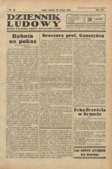 Dziennik Ludowy : organ Polskiej Partji Socjalistycznej. 1933, nr48