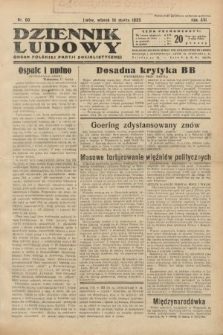 Dziennik Ludowy : organ Polskiej Partji Socjalistycznej. 1933, nr60
