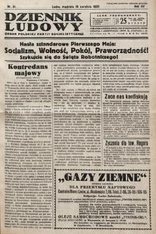 Dziennik Ludowy : organ Polskiej Partij Socjalistycznej. 1932, nr81