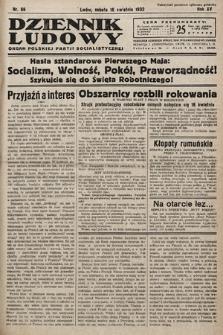 Dziennik Ludowy : organ Polskiej Partij Socjalistycznej. 1932, nr86