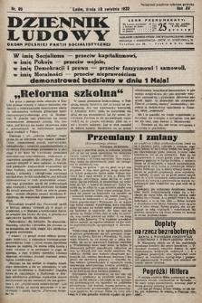 Dziennik Ludowy : organ Polskiej Partij Socjalistycznej. 1932, nr89