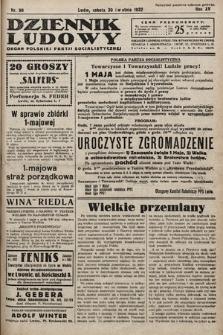 Dziennik Ludowy : organ Polskiej Partij Socjalistycznej. 1932, nr98