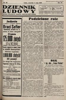 Dziennik Ludowy : organ Polskiej Partij Socjalistycznej. 1932, nr101