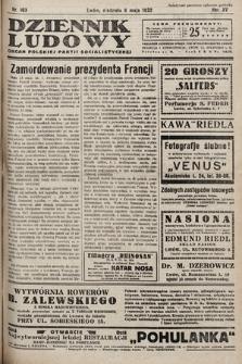 Dziennik Ludowy : organ Polskiej Partij Socjalistycznej. 1932, nr103