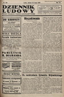 Dziennik Ludowy : organ Polskiej Partij Socjalistycznej. 1932, nr104