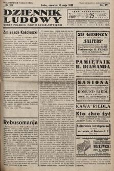 Dziennik Ludowy : organ Polskiej Partij Socjalistycznej. 1932, nr106