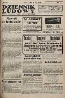 Dziennik Ludowy : organ Polskiej Partij Socjalistycznej. 1932, nr107
