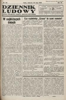 Dziennik Ludowy : organ Polskiej Partij Socjalistycznej. 1932, nr119