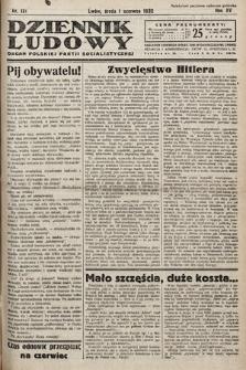Dziennik Ludowy : organ Polskiej Partij Socjalistycznej. 1932, nr121