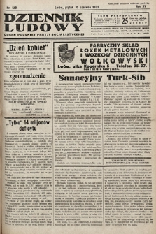 Dziennik Ludowy : organ Polskiej Partij Socjalistycznej. 1932, nr129