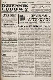 Dziennik Ludowy : organ Polskiej Partij Socjalistycznej. 1932, nr131