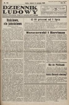 Dziennik Ludowy : organ Polskiej Partij Socjalistycznej. 1932, nr132
