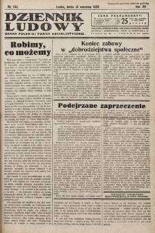Dziennik Ludowy : organ Polskiej Partij Socjalistycznej. 1932, nr133