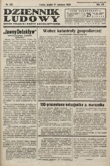 Dziennik Ludowy : organ Polskiej Partij Socjalistycznej. 1932, nr135