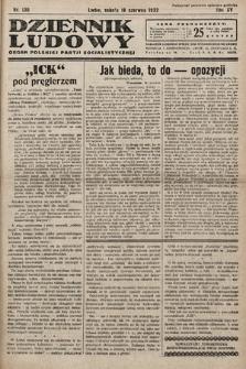 Dziennik Ludowy : organ Polskiej Partij Socjalistycznej. 1932, nr136