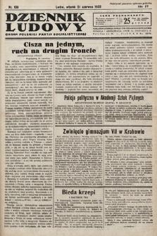Dziennik Ludowy : organ Polskiej Partij Socjalistycznej. 1932, nr138