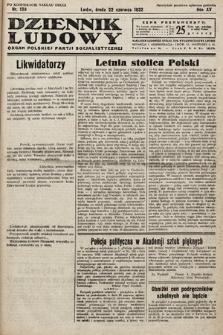 Dziennik Ludowy : organ Polskiej Partij Socjalistycznej. 1932, nr139