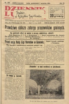 Dziennik Ludowy : organ Polskiej Partji Socjalistycznej. 1929, nr200