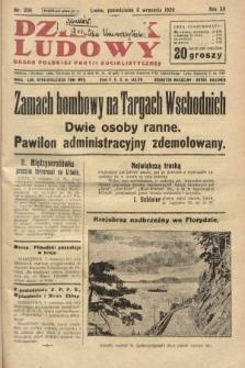 Dziennik Ludowy : organ Polskiej Partji Socjalistycznej. 1929, nr206