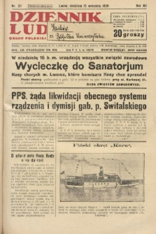 Dziennik Ludowy : organ Polskiej Partji Socjalistycznej. 1929, nr211