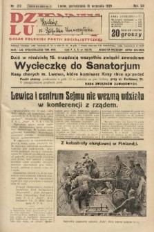Dziennik Ludowy : organ Polskiej Partji Socjalistycznej. 1929, nr212