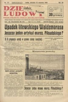 Dziennik Ludowy : organ Polskiej Partji Socjalistycznej. 1929, nr217