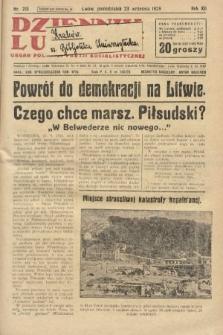 Dziennik Ludowy : organ Polskiej Partji Socjalistycznej. 1929, nr218