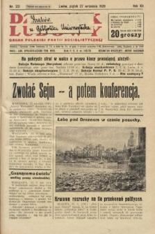 Dziennik Ludowy : organ Polskiej Partji Socjalistycznej. 1929, nr221