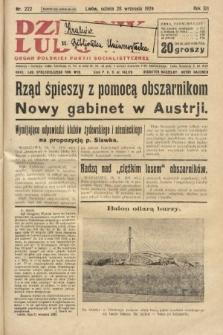 Dziennik Ludowy : organ Polskiej Partji Socjalistycznej. 1929, nr222