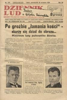Dziennik Ludowy : organ Polskiej Partji Socjalistycznej. 1929, nr224