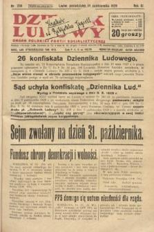Dziennik Ludowy : organ Polskiej Partji Socjalistycznej. 1929, nr236