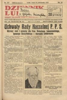Dziennik Ludowy : organ Polskiej Partji Socjalistycznej. 1929, nr237