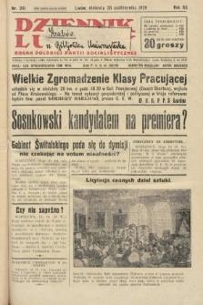 Dziennik Ludowy : organ Polskiej Partji Socjalistycznej. 1929, nr241