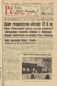 Dziennik Ludowy : organ Polskiej Partji Socjalistycznej. 1929, nr246