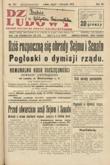 Dziennik Ludowy : organ Polskiej Partji Socjalistycznej. 1929, nr251