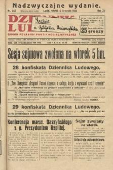 Dziennik Ludowy : organ Polskiej Partji Socjalistycznej. 1929, nr255