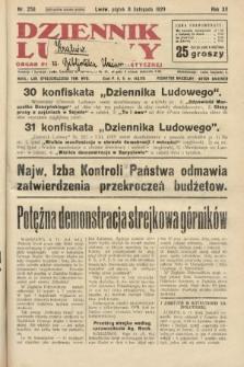 Dziennik Ludowy : organ Polskiej Partji Socjalistycznej. 1929, nr258