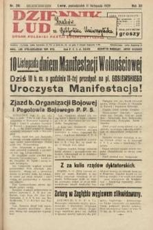 Dziennik Ludowy : organ Polskiej Partji Socjalistycznej. 1929, nr261