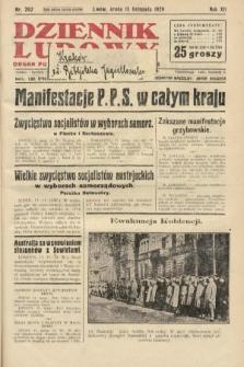 Dziennik Ludowy : organ Polskiej Partji Socjalistycznej. 1929, nr262