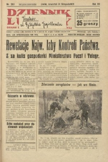 Dziennik Ludowy : organ Polskiej Partji Socjalistycznej. 1929, nr263