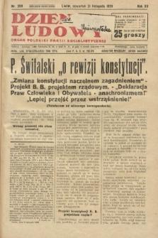 Dziennik Ludowy : organ Polskiej Partji Socjalistycznej. 1929, nr269
