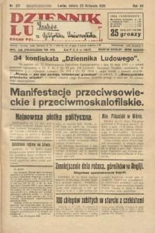 Dziennik Ludowy : organ Polskiej Partji Socjalistycznej. 1929, nr271