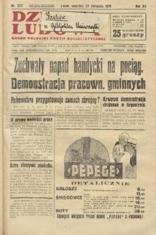 Dziennik Ludowy : organ Polskiej Partji Socjalistycznej. 1929, nr272